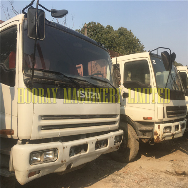 Used Japan Isuzu Dump Truck with good condition