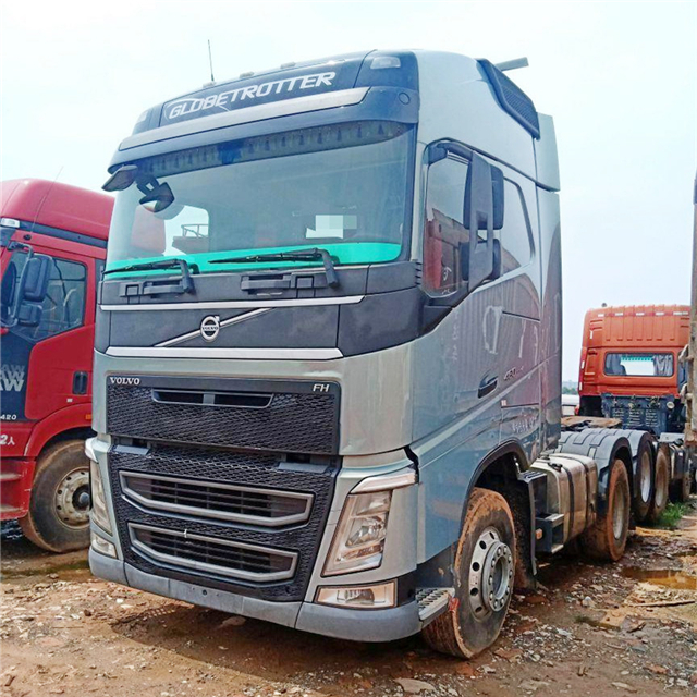 Used Volvo FH12 truck head,Volvo 6x2 460 HP truck head