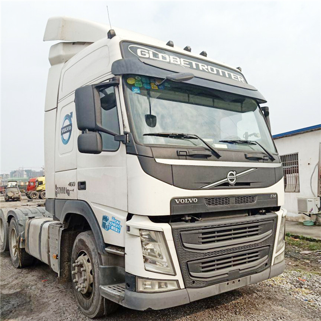 Used Volvo Fm12 truck head,6x4 tractor 336-420 HP