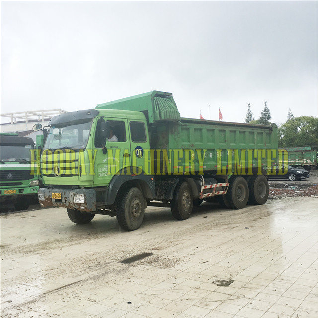 China Beiben 6x4 30 tons Used Dump Truck for sale
