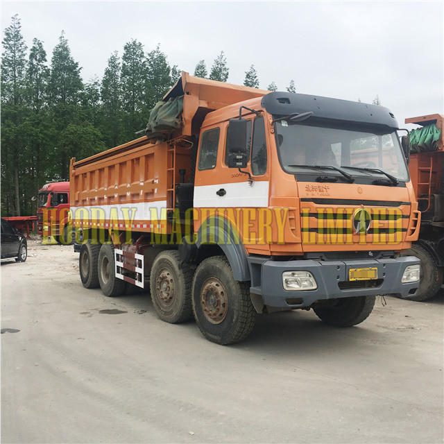 Good Condition Used 6*4 Beiben Dump Trucks on Sale