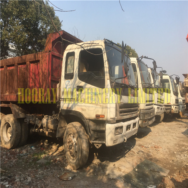 Supply Japan Used Isuzu Dump Truck for sale