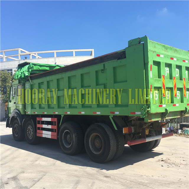 Good Condition Used 6*4 Benz Dump Trucks on Sale