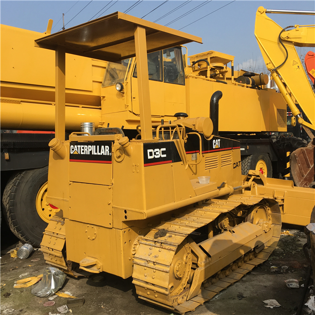 Good Quality Second Hand Small Bulldozer CAT D3C
