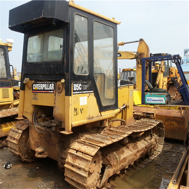 Japan Used CAT D5C Bulldozer in competitive price