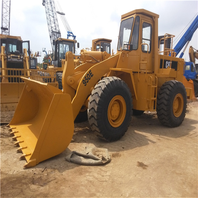 Second hand caterpillar 950E Wheel Loader at low price
