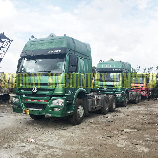 HOWO 375hp Used Truck Head Tractor Head Truck for sale