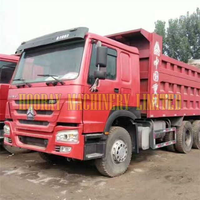 Sino Truck Used 375 HP HOWO 10 Wheels Dump Truck