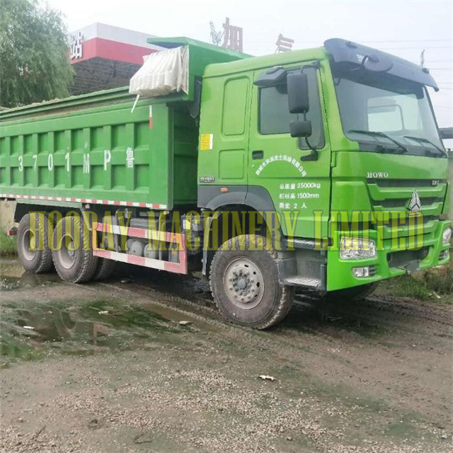 Low Price Howo 6X4 Truck Used Tipper Dump Truck
